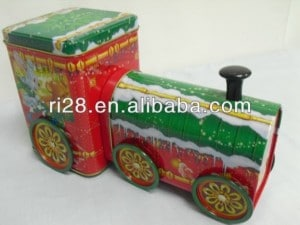 אריזה מתעתעת בצורת רכבת